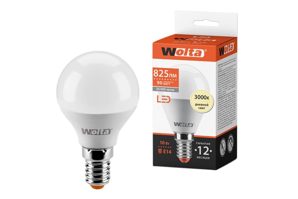 Лампа WOLTA LED 25Y45GL10E14
