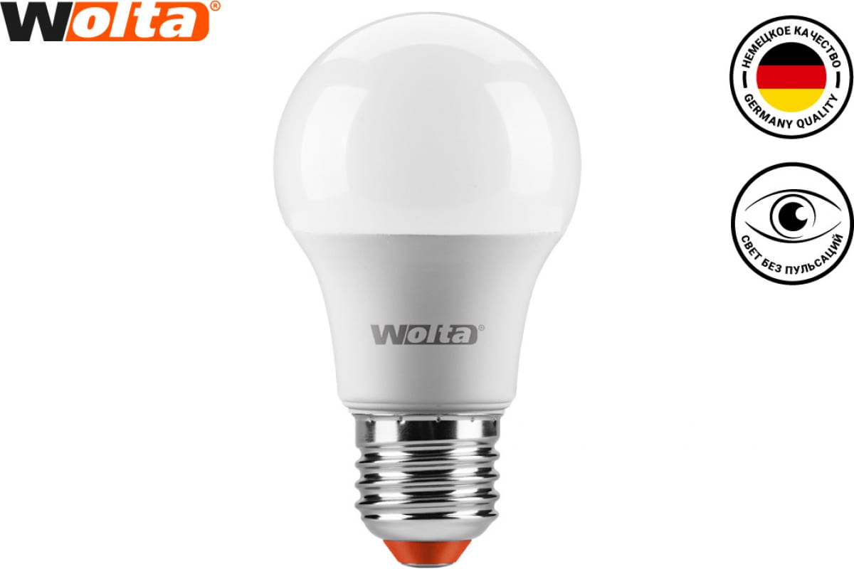Лампа WOLTA LED 25Y45GL10E27