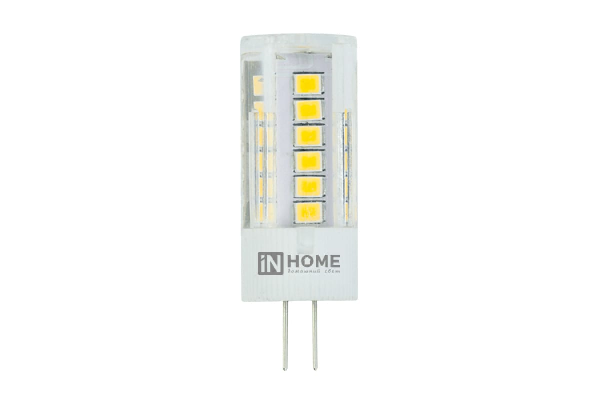 Светодиодная лампаIN HOME LED-JC-VC 3Вт12ВG4 6500К270Лм4690612019802