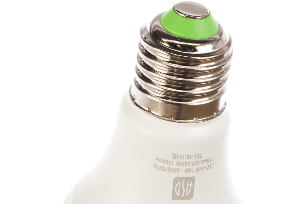 Лампа ASD сд LED-A60-std 15Вт 230В Е27 6500К 1350Лм 4690612014203