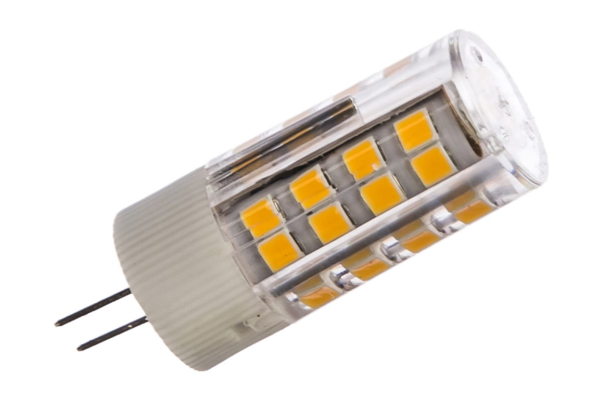 Лампа ASD сд LED-JC-std 5Вт 12В G4 3000К 450Лм 4690612004655