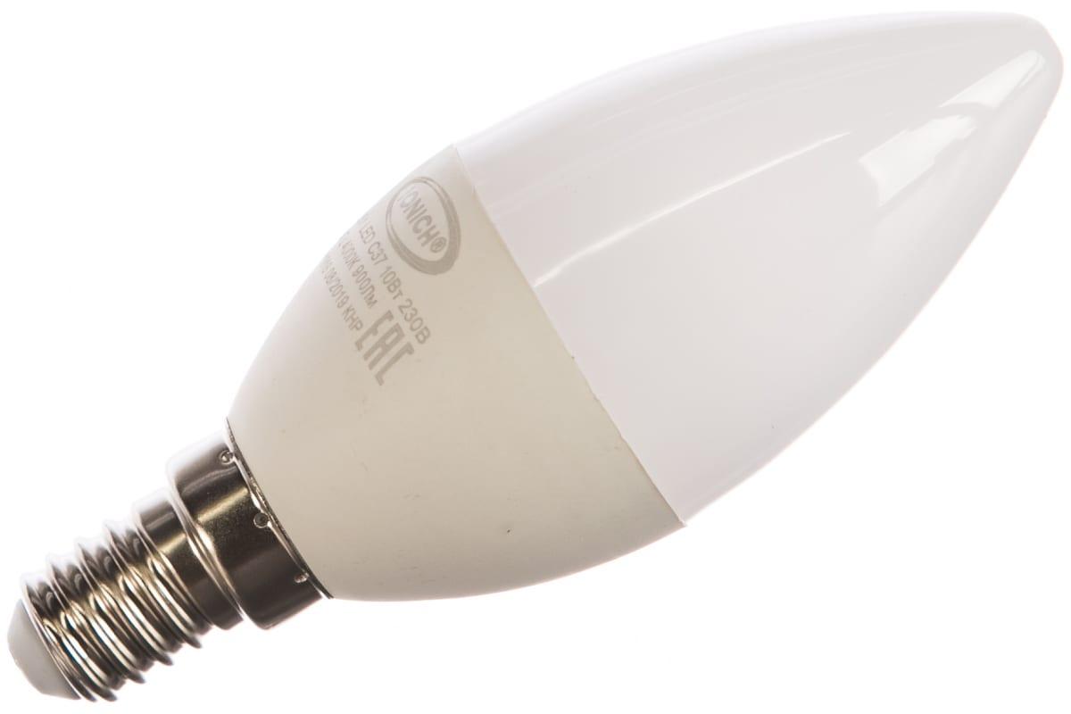 Светодиодная лампа IONICH декоративное освещение ILED-SMD2835-C37-10-900-230-4-E14 1551