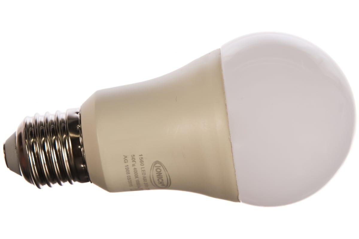 Светодиодная лампа IONICH общего назначения ILED-SMD2835-A60-20-1800-230-4-E27 1128 1560