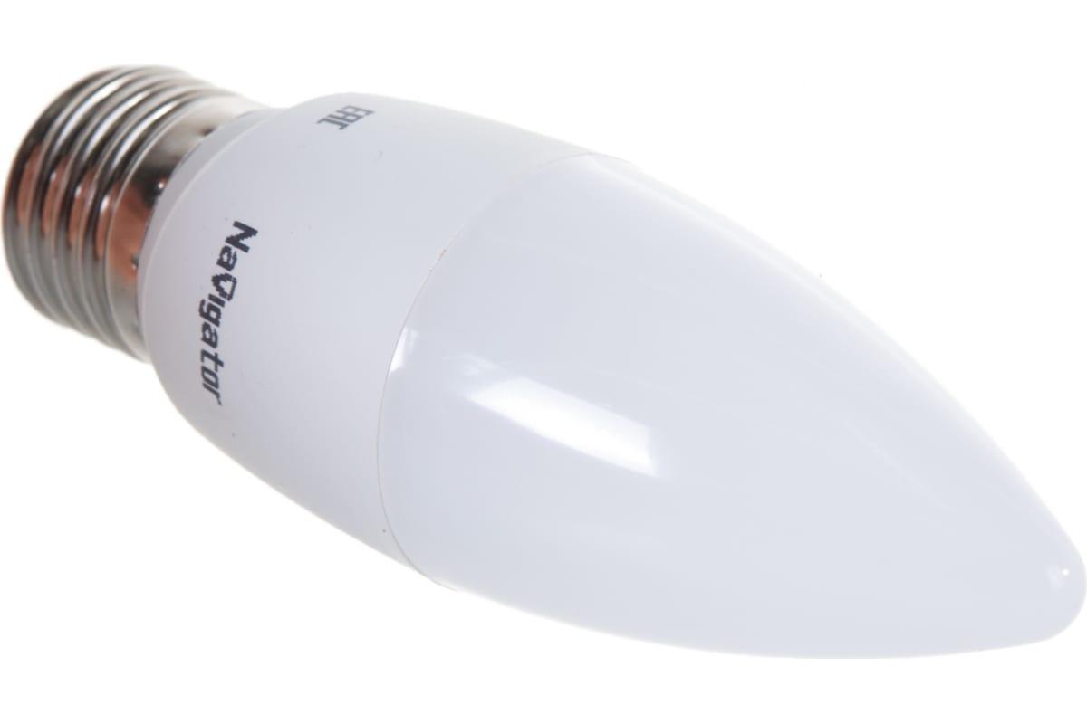 Светодиодная лампа NAVIGATOR 61 328 NLL-C37-8.5-230-4К-E27-FR 61328 476068