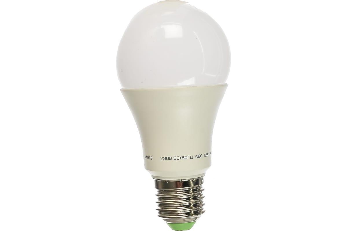 Светодиодная лампа NAVIGATOR NLL-A60-12-230-2.7K-E27 Standard 12Вт груш. теплый белый 71296 331146