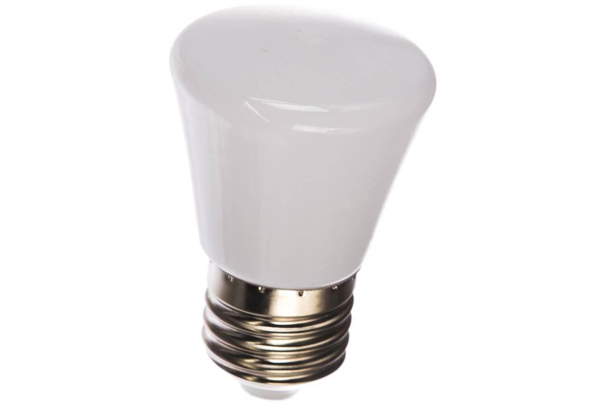 Декоративная светодиодная лампа Volpe LED-D45-1W/6000K/E27/FR/С BELL UL-00005804