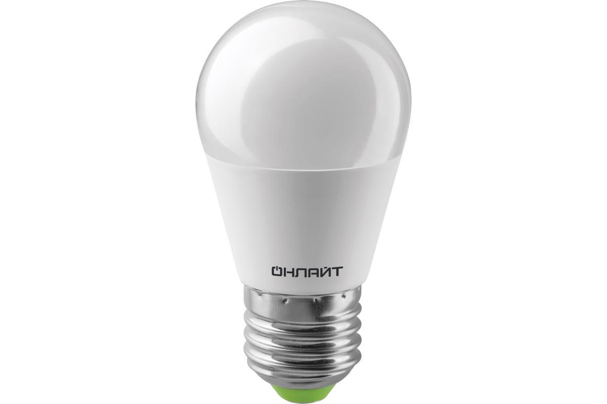 Лампа ОНЛАЙТ OLL-G45-10-230-2.7K-E27 61968