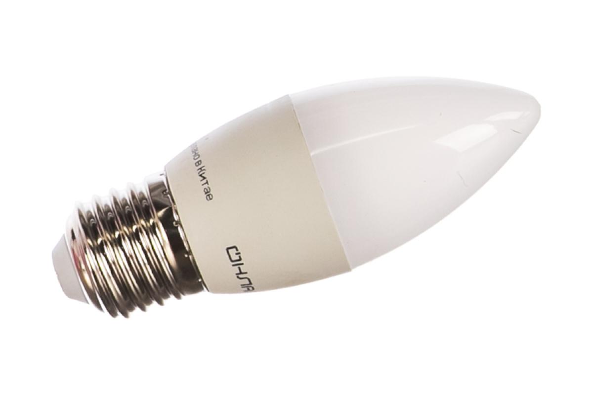 Лампа ОНЛАЙТ OLL-C37-8-230-4K-E27-FR 71635