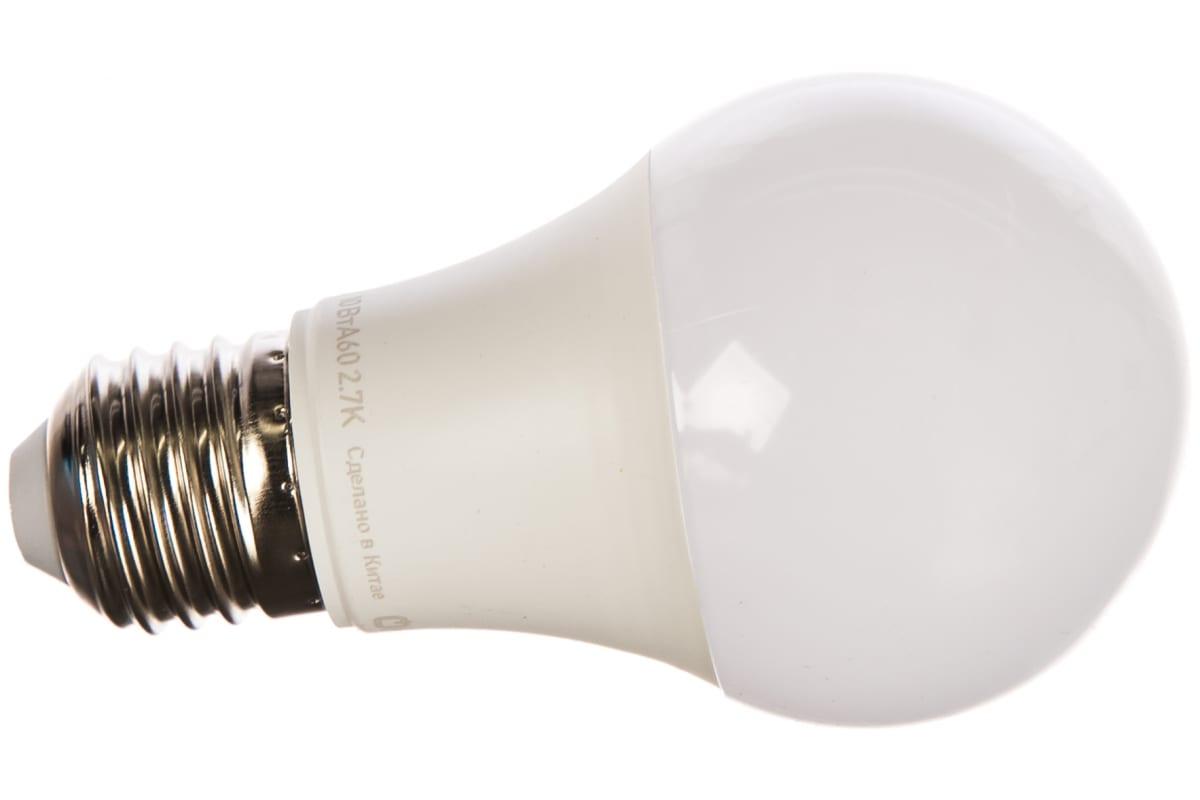 Лампа ОНЛАЙТ OLL-A60-10-230-2.7K-E27 71649