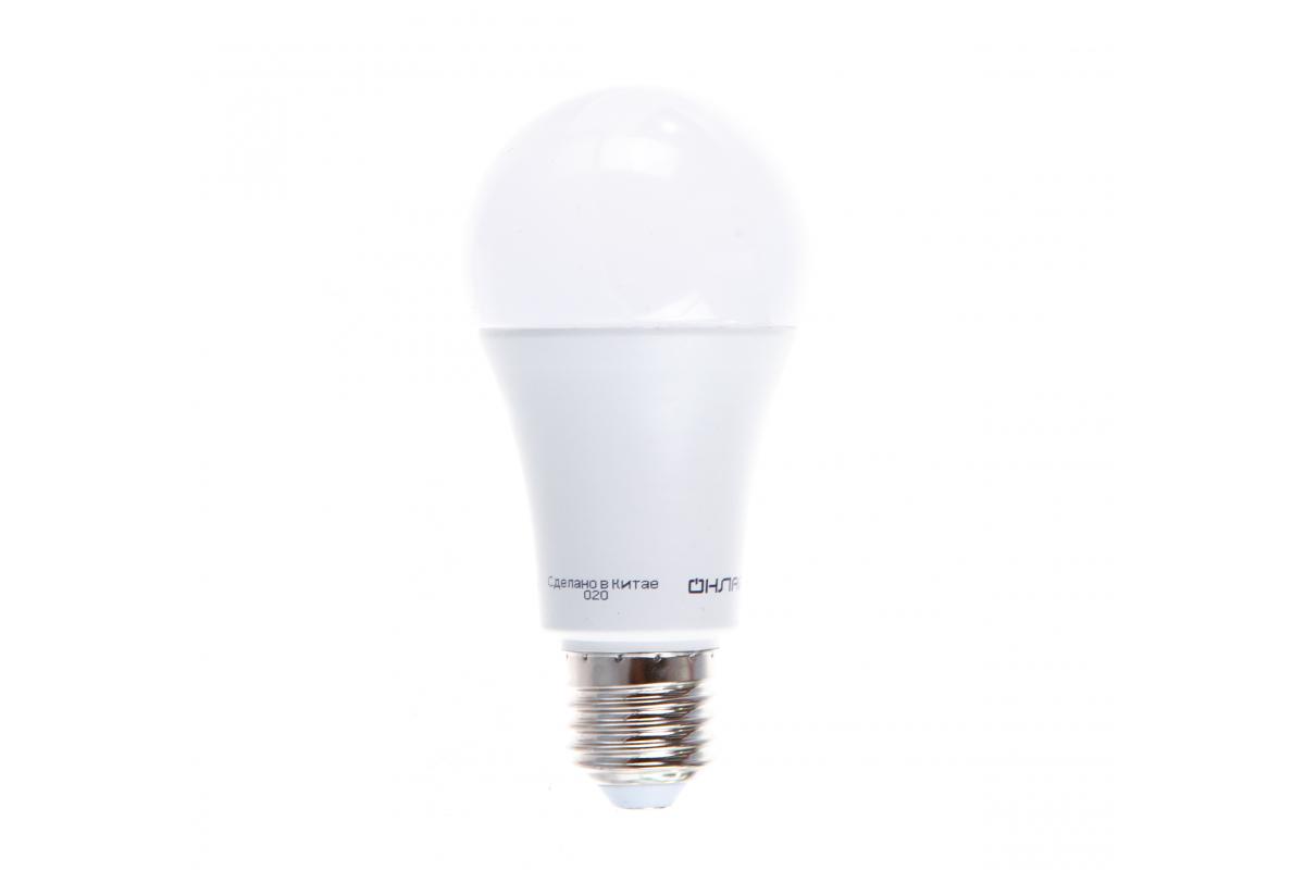 Лампа ОНЛАЙТ OLL-A60-25-230-6.5K-E27 61955
