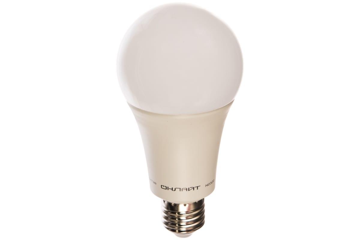 Лампа ОНЛАЙТ OLL-A70-30-230-4K-E27 61971