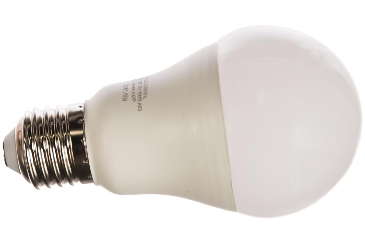 Светодиодная лампа Ресанта LL-R-A60-13W-230-3K-E27 /груша 13Вт тепл. Е27/ 76/1/17