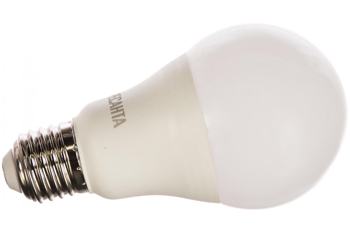 Светодиодная лампа Ресанта LL-R-A65-15W-230-4K-E27 (груша 15Вт нейтр. Е27) 76/1/20