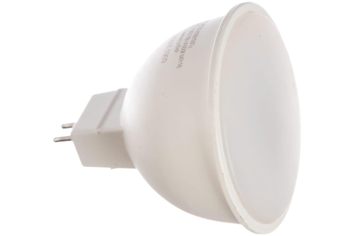 Светодиодная лампа Ресанта LL-R-MR16-7W-230-4K-GU5.3 рефлекторная 7Вт нейтральная GU5.3 76/1/24
