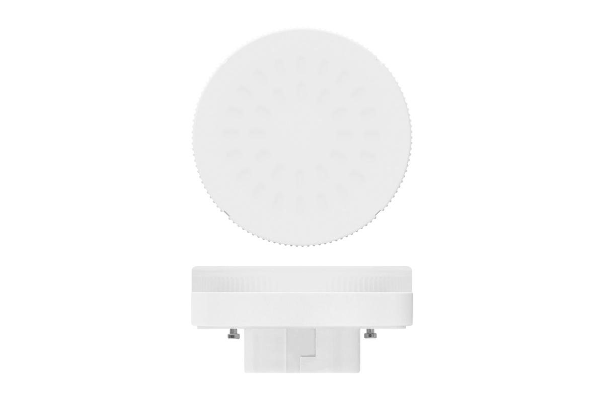 Светодиодная лампа Uniel LED-GX53-6W/NW/GX53/FR PLZ01WH матовая UL-00001669