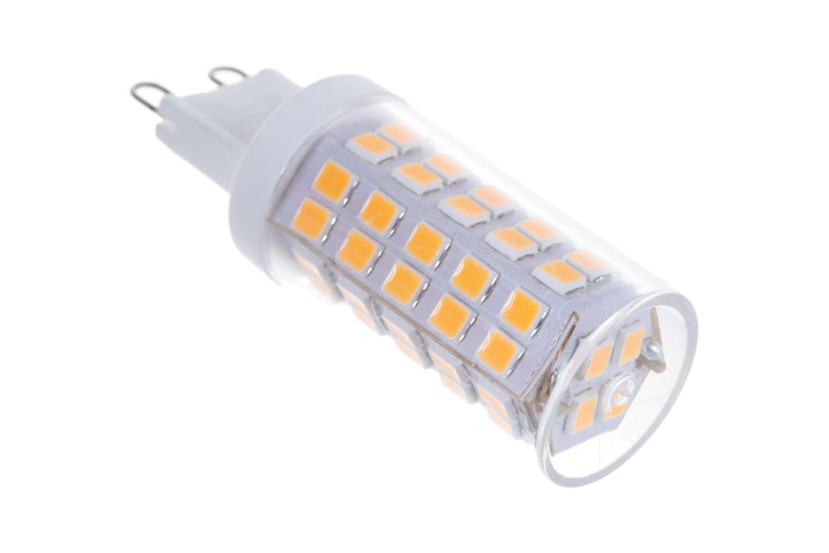 Светодиодная лампа Uniel LED-JCD-9W/3000K/G9/CL GLZ09TR прозрачная UL-00006488