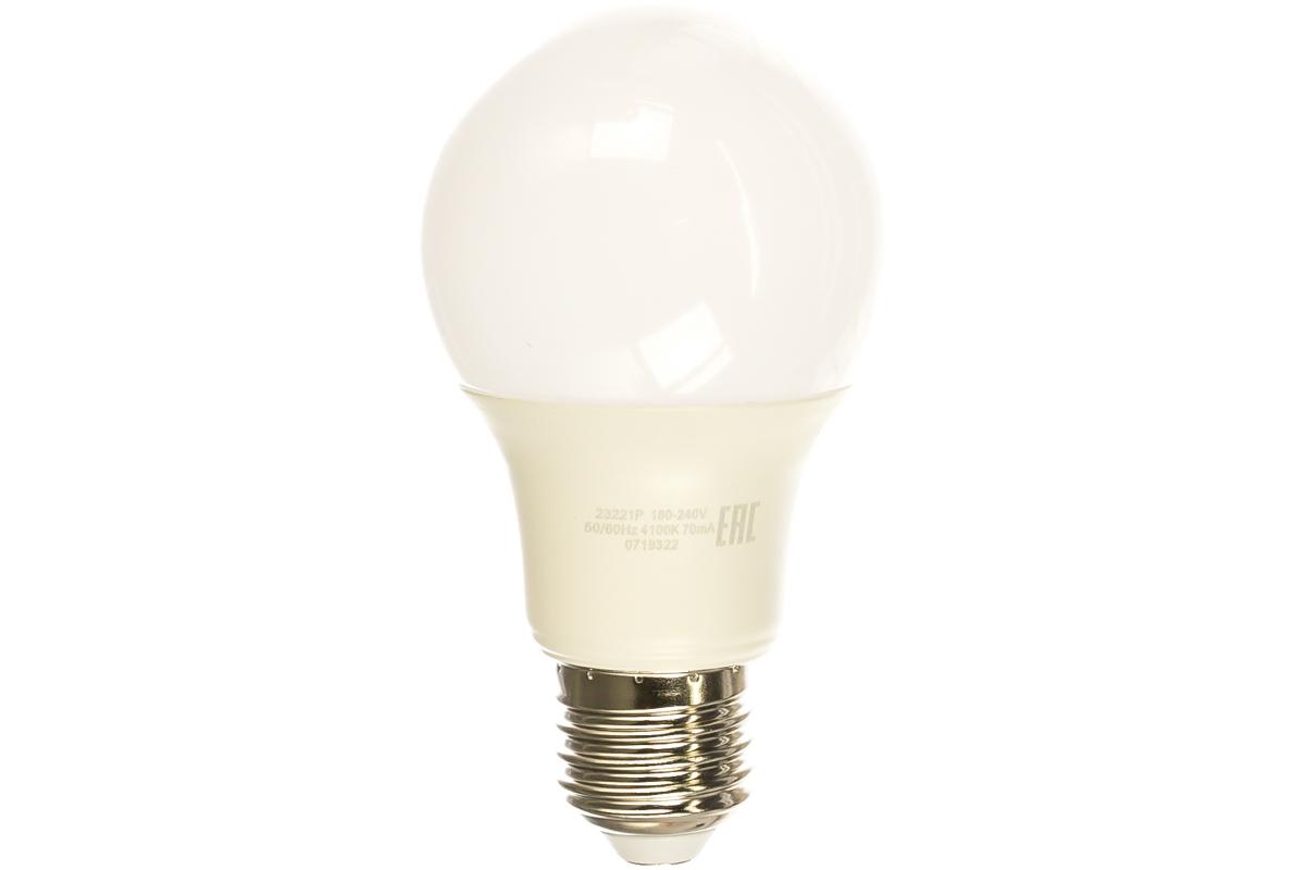 Лампа Gauss LED Elementary A60 11W E27 4100K 2 лампы в упаковке 23221P