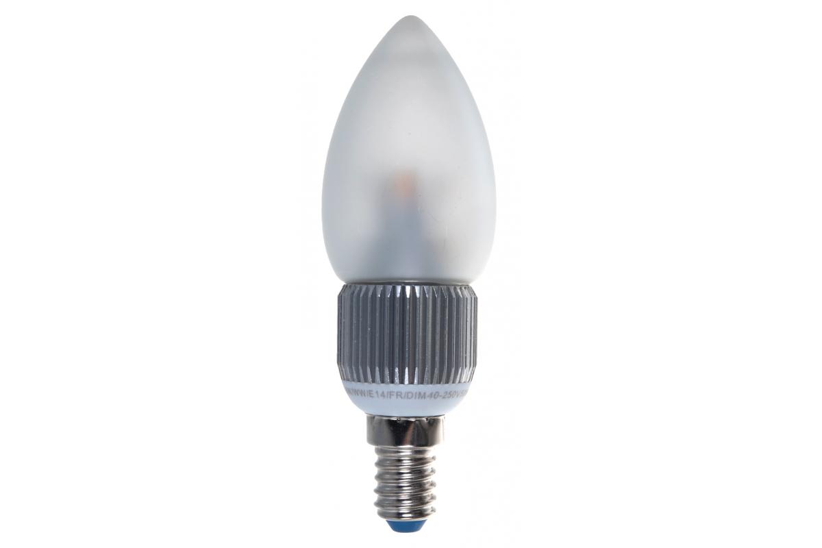 Светодиодная диммируемая пятилепестковая лампа Uniel LED-C37P-5W/WW/E14/FR/DIM ALC03SL 8747