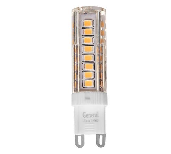Светодиодная лампа General Lighting Systems G9-7W-P-220V-2700K 654000 - цена, отзывы, характеристики, фото - купить в Москве и РФ