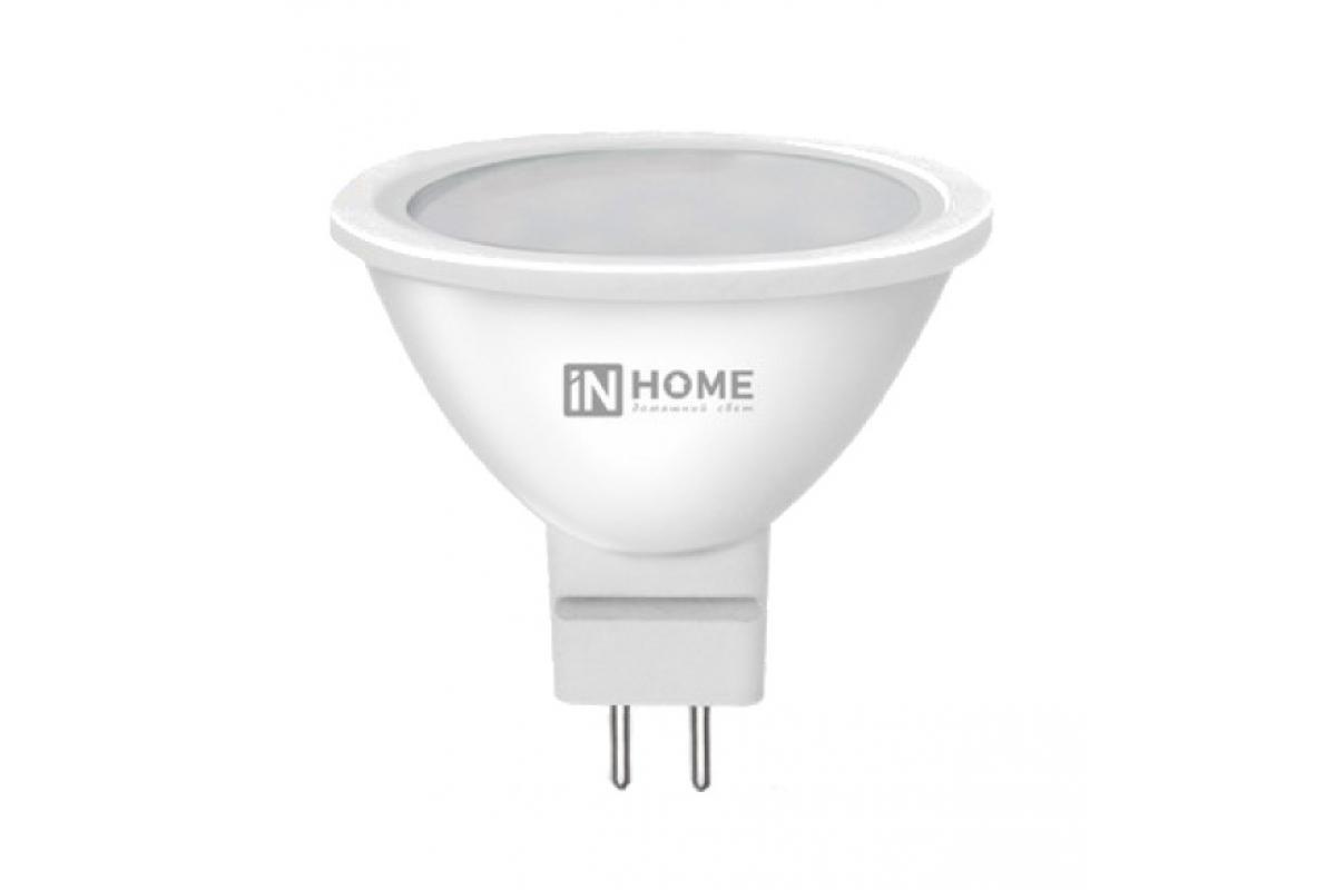 Светодиодная лампа IN HOME LED-JCDR-VC 4Вт 230В GU5.3 6500К 310Лм 4690612030715