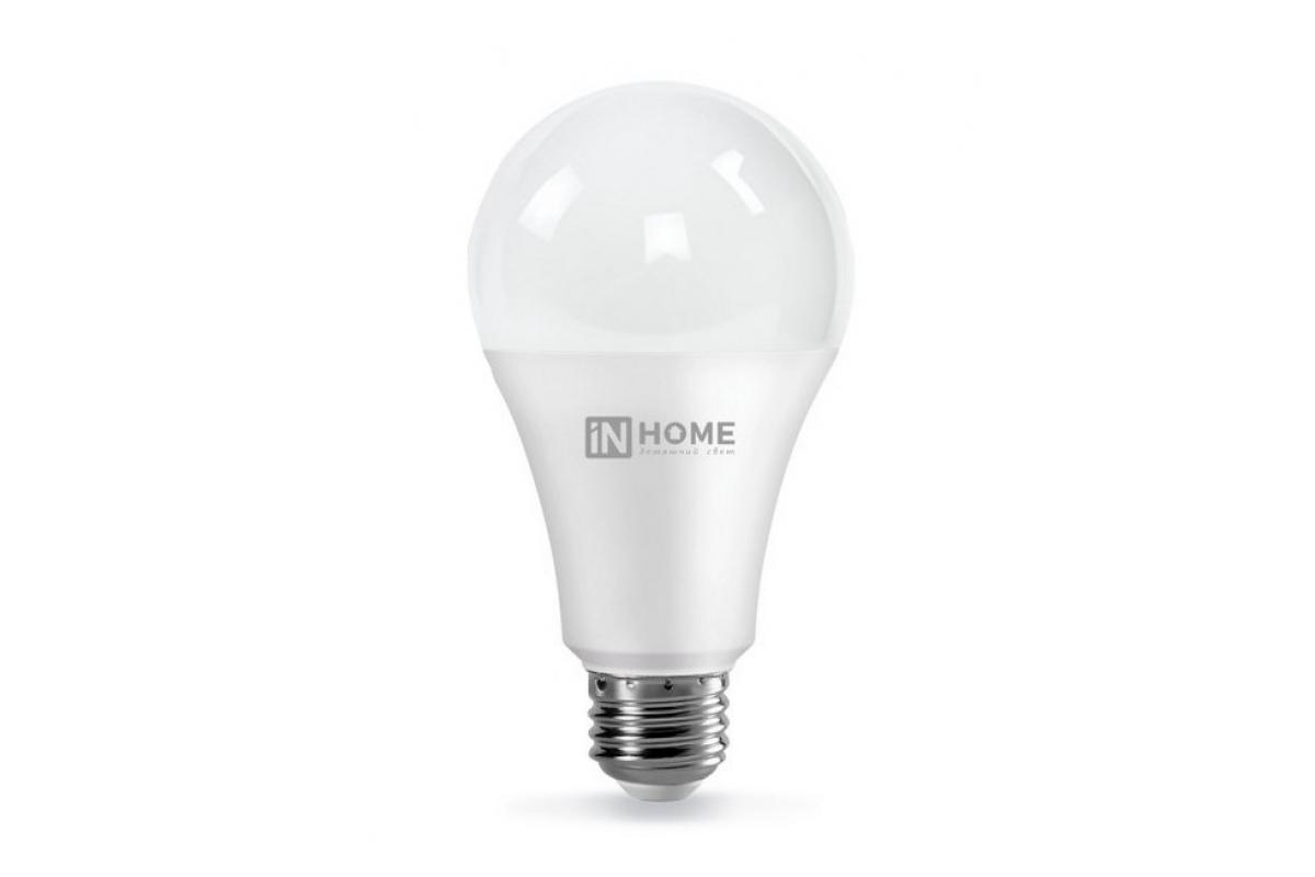 Светодиодная лампа IN HOME LED-A70-VC 30Вт 230В Е27 3000К 2700Лм 4690612024127