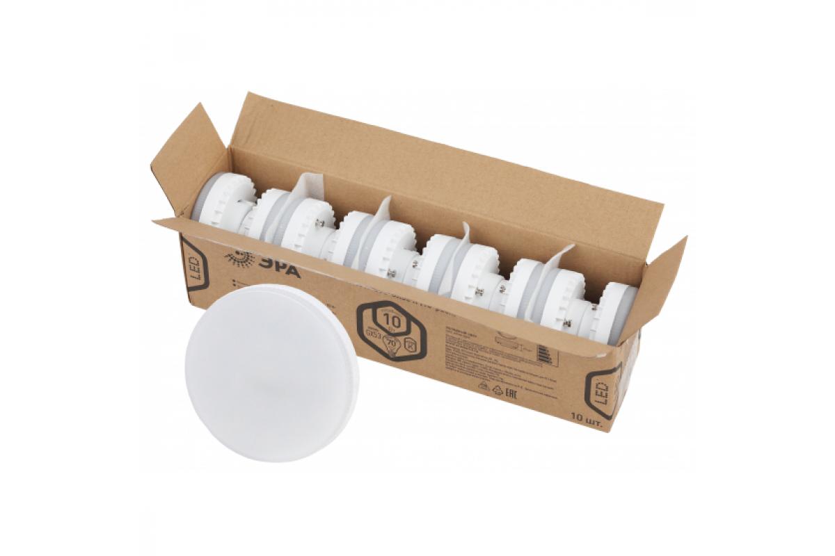 Лампа ЭРА LED GX10W865GX53 R диод таблетка 10Вт холодный свет GX53 Б0045327