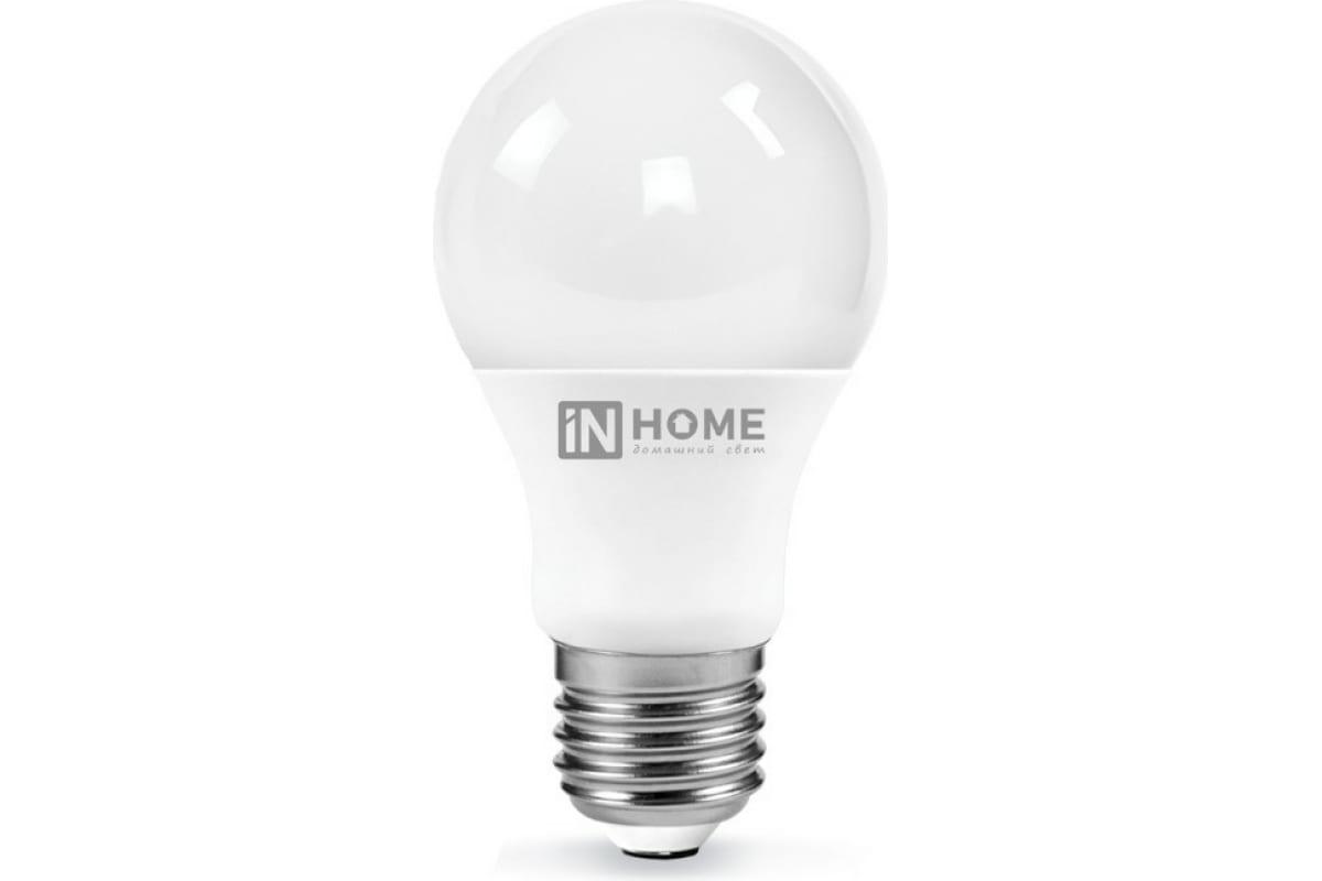 Светодиодная лампа IN HOME LED-A65-VC 25Вт 230В Е27 3000К 2250Лм 4690612024066