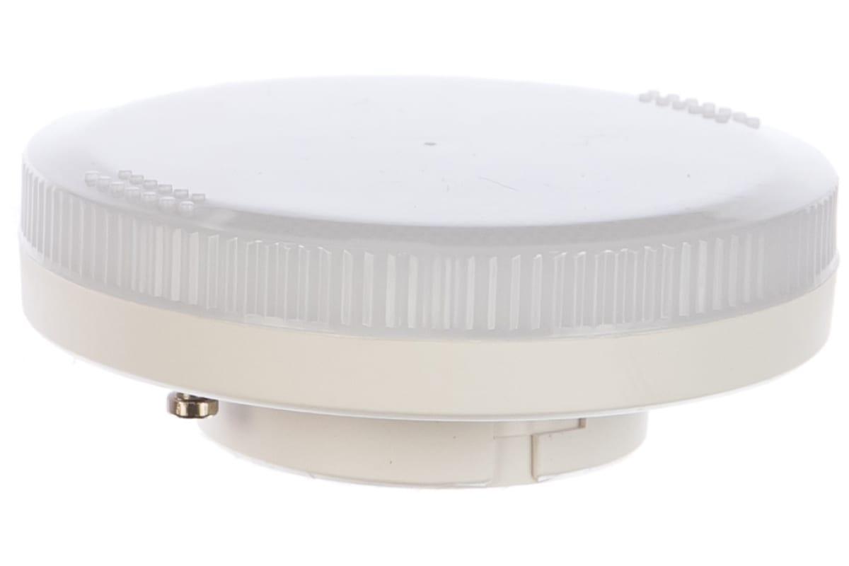 Светодиодная лампа Ecola Light GX53 LED 60W Tablet 220V 4200K 27x75 матовое стекло 30000h T5MV60ELC