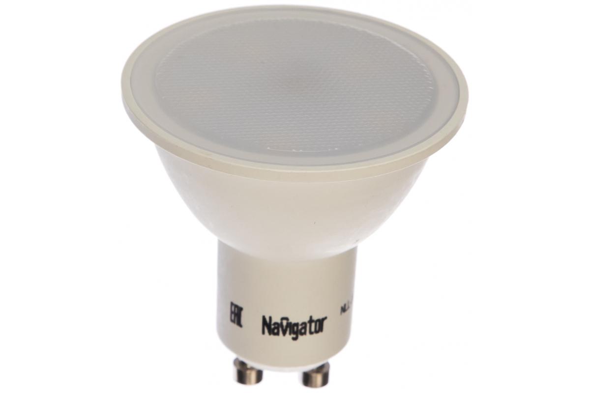 Светодиодная лампа Navigator LED 5ВТ 230В GU10 белый Navigator 17963