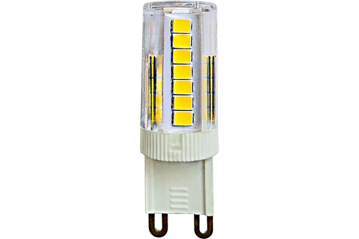 Лампа Uniel LED-JCD-5W/4000K/G9/CL GLZ09TR светодиодная прозрачная UL-00006749