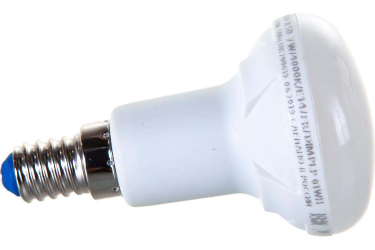 Лампа Uniel LED-R50 7W/4000K/E14/FR/DIM PLP01WH светодиодная диммируемая UL-00004709