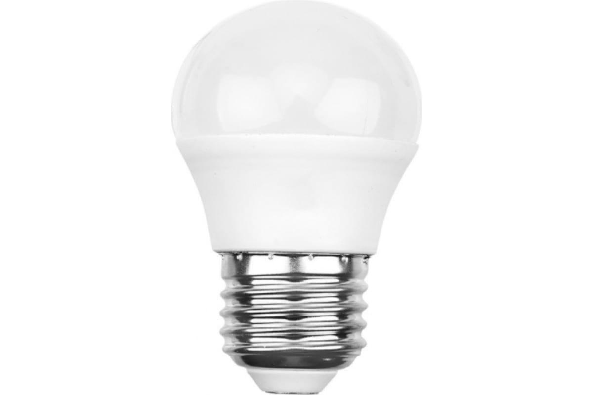 Светодиодная лампа REXANT шарик 115 Вт E27 1093 лм 2700 K теплый свет 604-043