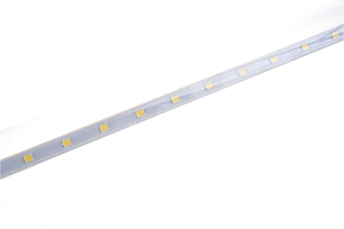 Светодиодная лампа ASD LED-T8R-П-std 10Вт 230В G13R 4000К 800Лм 600мм прозрачная поворотная 4690612007052