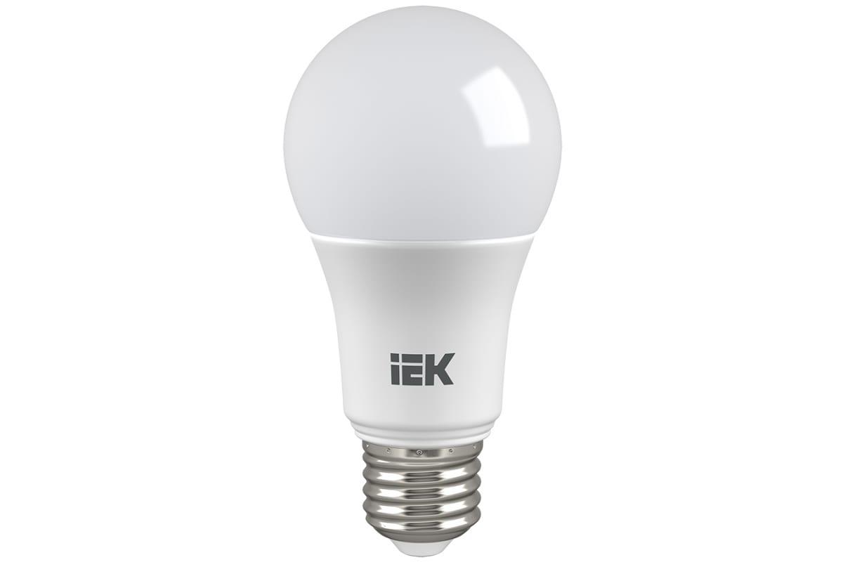 Лампа IEK LED A60 13вт 230В 6500К E27 LLE-A60-13-230-65-E27