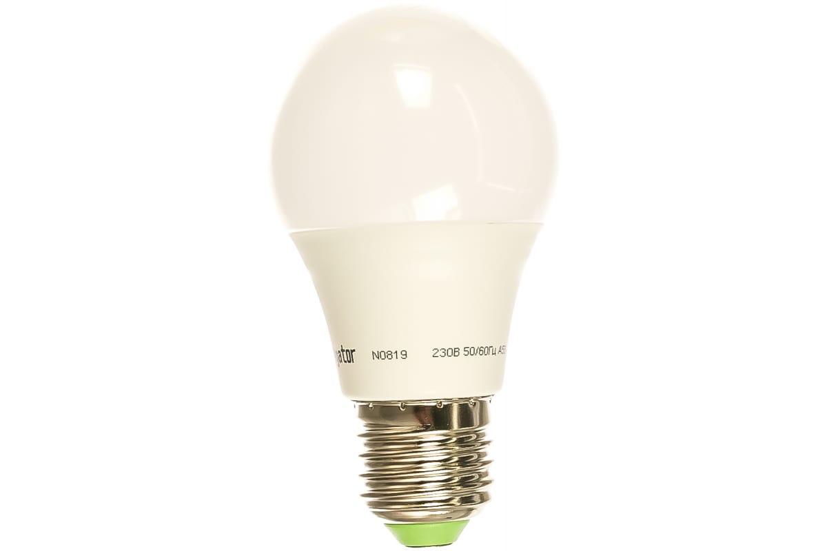 Светодиодная лампа NAVIGATOR 94 385 NLL-A55-7-230-2.7K-E27 4607136943858 257787
