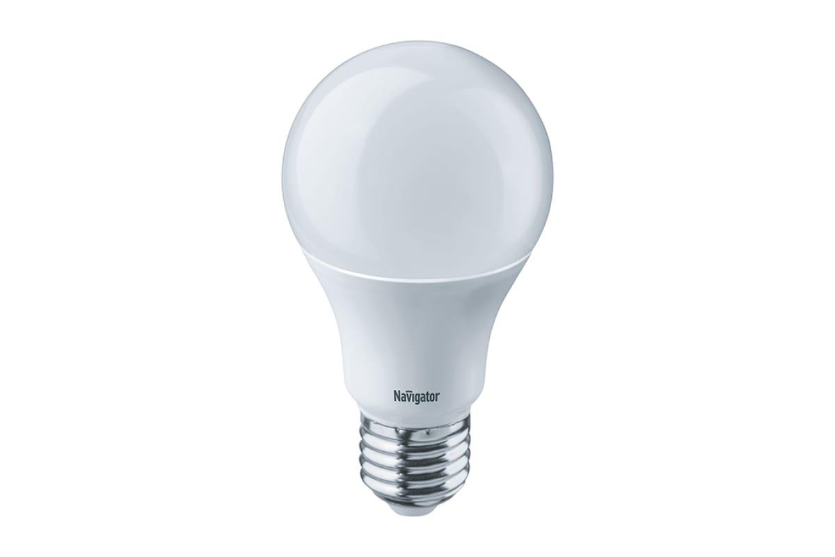 Светодиодная лампа Navigator 94 387 NLL-A60-10-230-2.7K-E27 4607136943872 286597