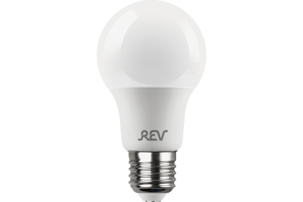 Светодиодная диммируемая лампа LED A60 Е27 13W 1100Лм 2700K теплый свет REV PREMIUM DIMMABLE 32381 5