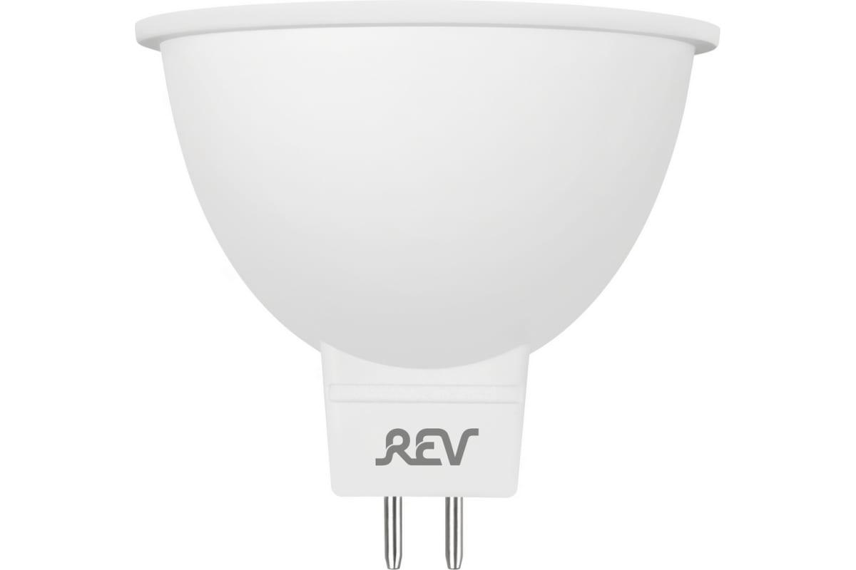 Светодиодная лампа REV LED MR16 GU5.3 3W 240Лм 4000K холодный свет 12V 32370 9