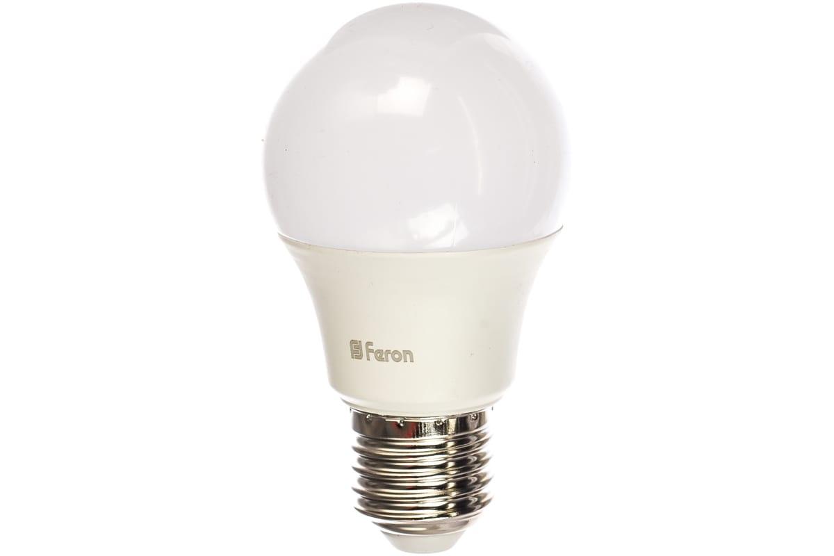 Светодиодная лампа - шар E27 7W 2700K FERON LB-91 25444