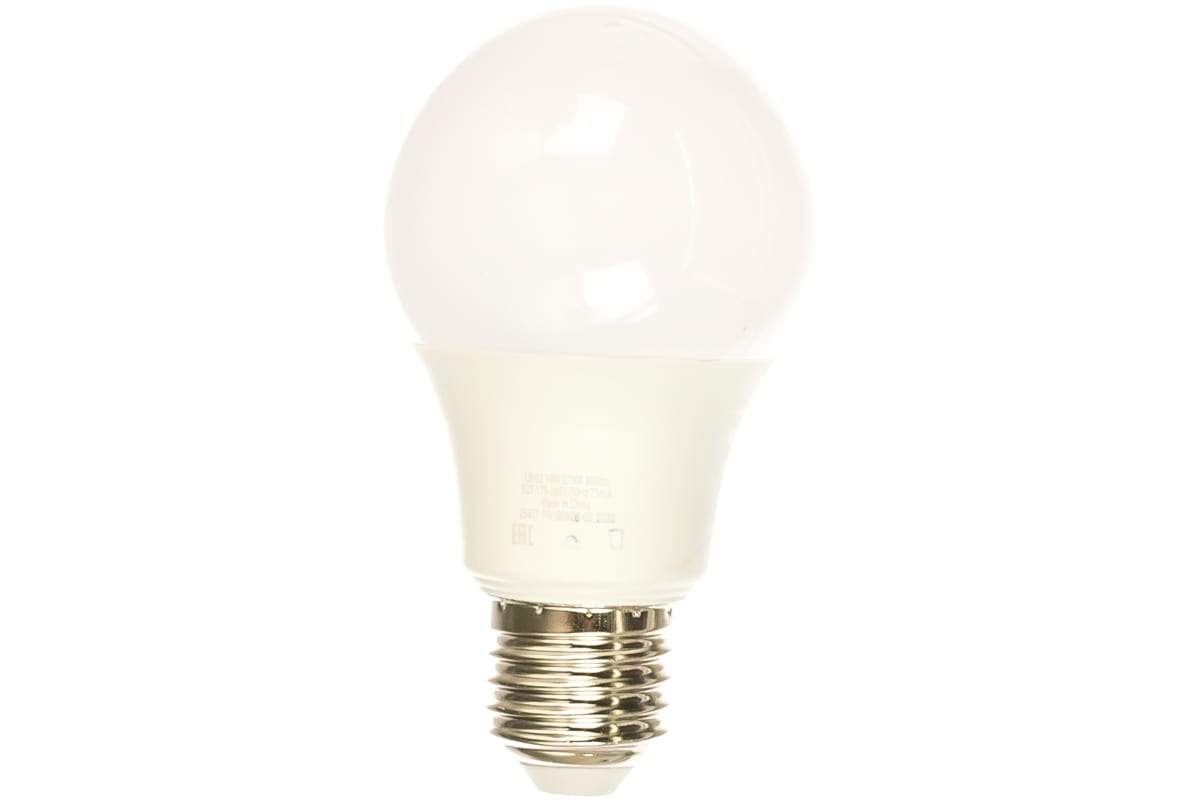 Светодиодная лампа - шар E27 10W 2700K FERON LB-92 25457
