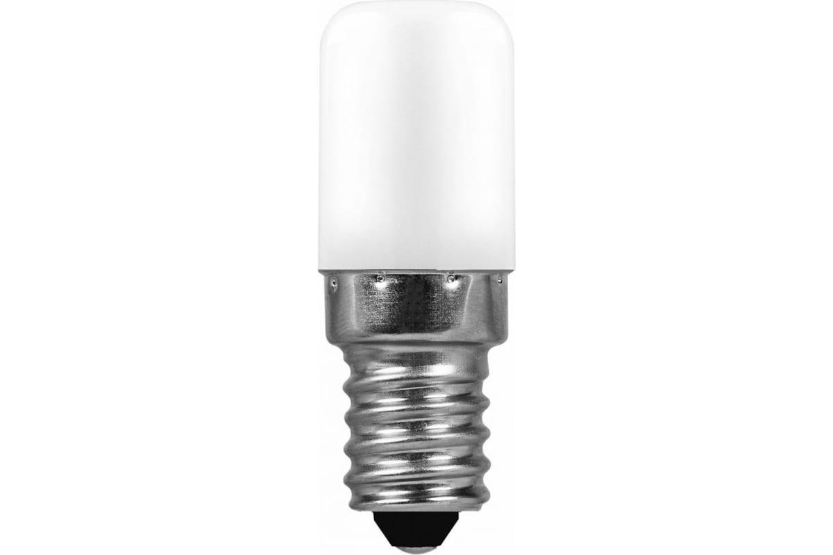 Светодиодная лампа для холодильника E14 2W 2700K Feron LB-10 25295