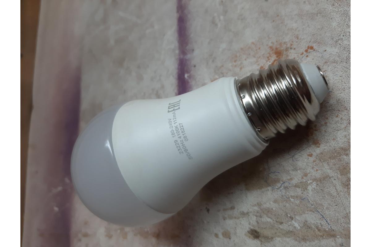 Лампа LED A60 20W E27 4100K Gauss Elementary 23229