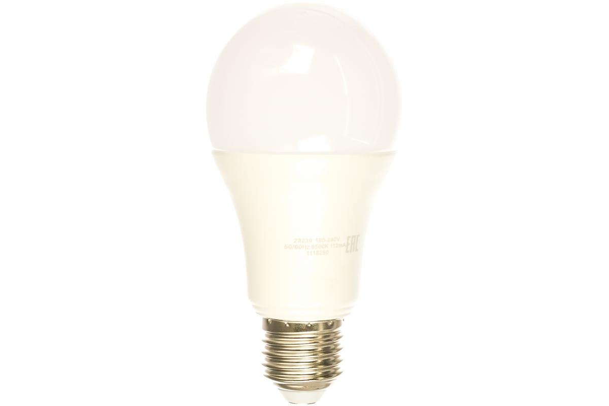 Лампа Gauss LED Elementary A60 20W E27 1750lm 6500K 1/10/50 23239