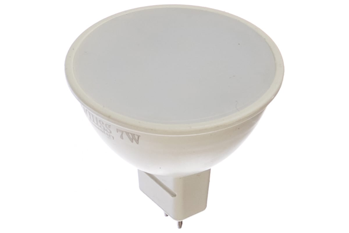 Лампа LED MR16 GU5.3 7W 4100K Gauss Elementary 13527