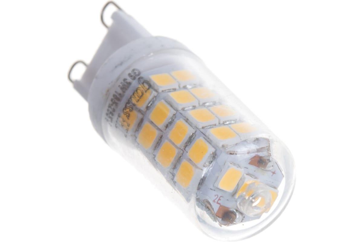 Диммируемая лампа LED G9 AC185-265V 3W 4100K Gauss 107309203