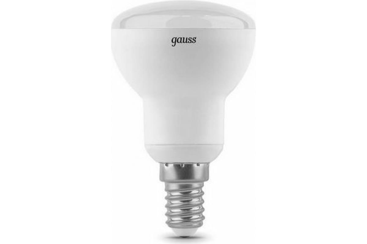 Лампа LED Reflector R50 E14 6W 3000K Gauss 106001106