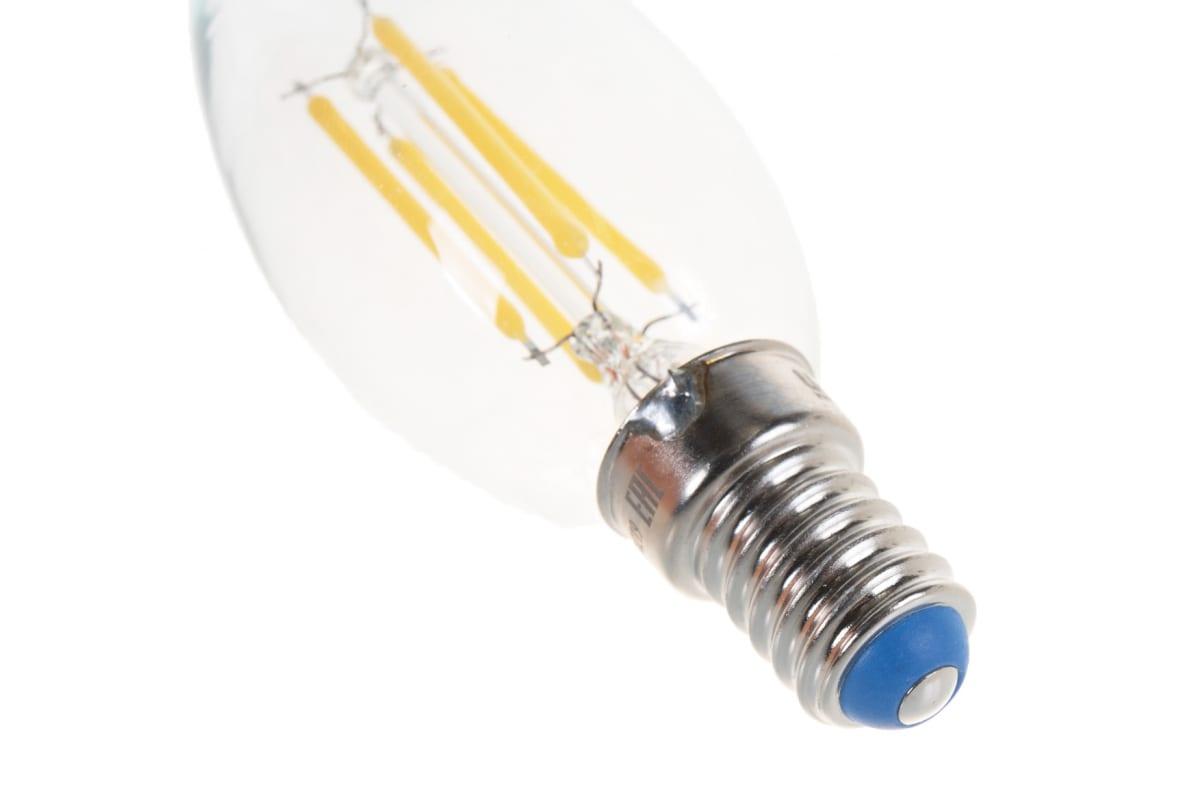 Светодиодная лампа Uniel LED-C35-6W/NW/E14/CL PLS02WH UL-00001373