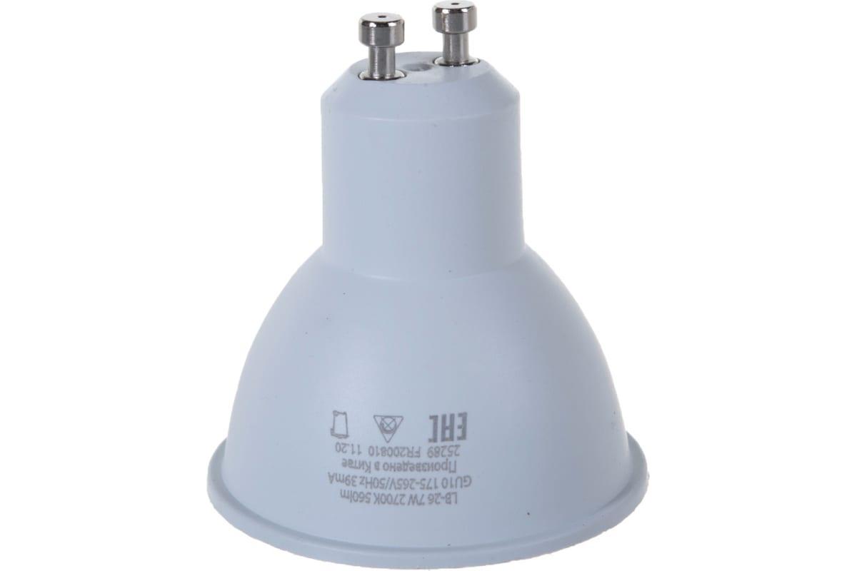 Светодиодная лампа FERON 80LED 7W 230V GU10 2700K LB-26 25289