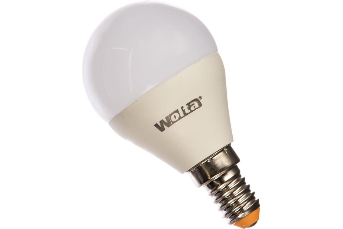 Лампа LED Wolta 3000K 25Y45GL8E14