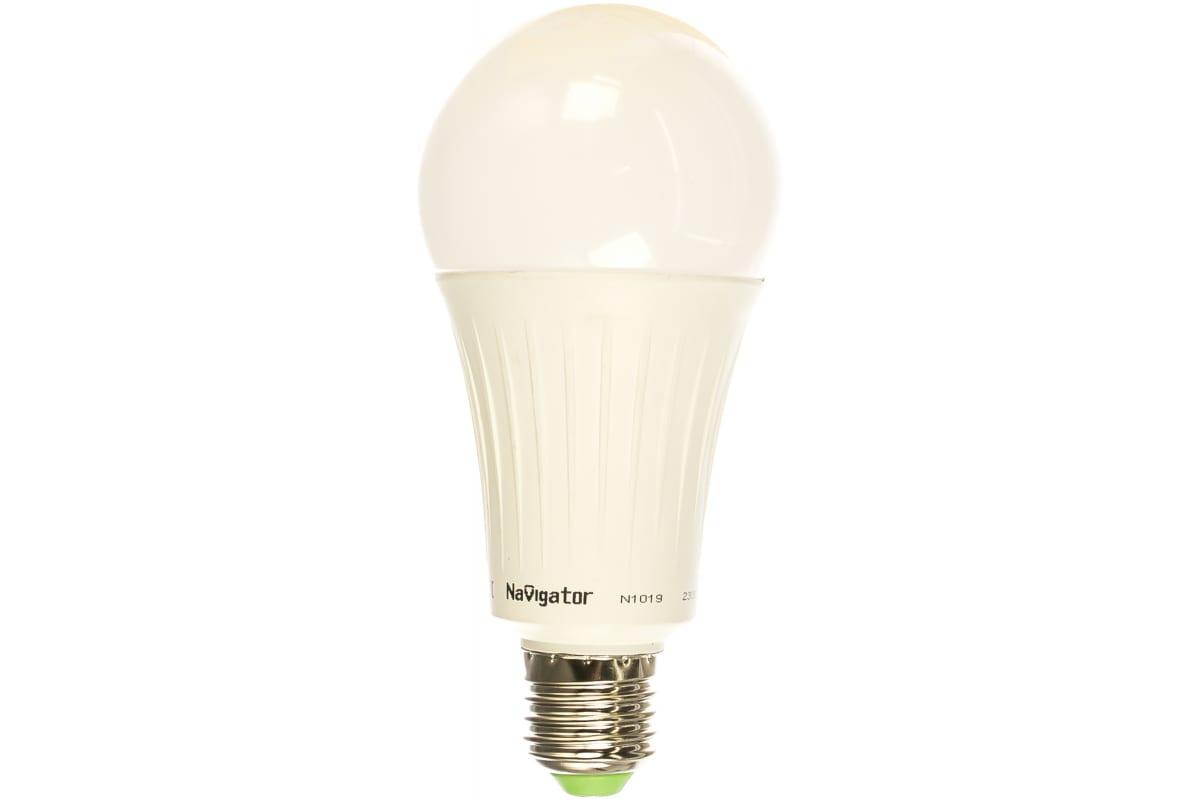 Светодиодная лампа Navigator 61 282 NLL-A70-20-230-4K-E27 20339 467147